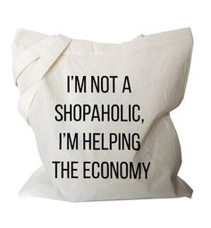 funny tote bag Market Canvas Cotton Totes, Quote shopping bag, reusable fabric cotton Grocery Bag, Eco friendly shoulder bag