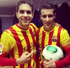 Great game for barca! #bartra #tello #W