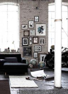 Inside the Lines: alles im Rahmen - Wände mit Bildern dekorieren: die richtige Hängung 6 - [SCHÖNER WOHNEN]