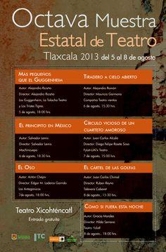 Octava Muestra Estatal de Teatro Tlaxcala 2013