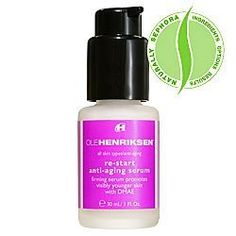 Ole Henriksen Ole Henriksen Re-Start Anti-Aging Serum by Ole Henriksen. $38.50. Take your skin back in time. Ole Henriksen Re-Start Anti-Aging Serum repairs, firms, calms, and protects your aging skin....