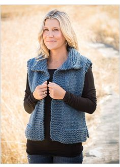 Signature Designs Big Time Vest Knit Pattern - The Perfect Messy Bun in 3 Easy Steps Knitting Blogs, Easy Knitting, Knitting For Beginners, Knitting Patterns Free, Knit Patterns, Knitting Needles, Knit Vest Pattern, Bolero Pattern