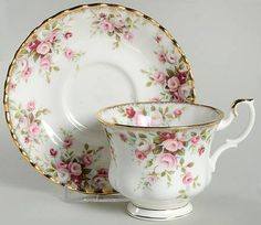 Brands 100 Years of Royal Albert and More! Footed Cup & Saucer SetFavorite Brands 100 Years of Royal Albert and More!