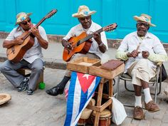 Item #2 Spend an afternoon listening to street musicians in Havana, Cuba
