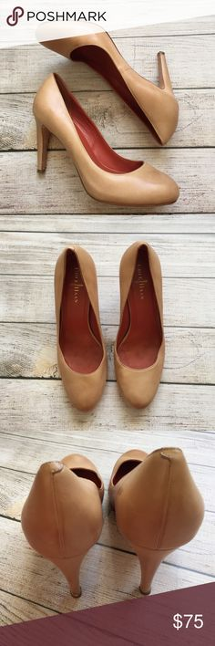 "Cole Haan Pumps Classic Pumps perfect for the office or a night out - rounded toe - 4"" heel - there is a scuff mark on the outer right shoe, but otherwise excellent condition Cole Haan Shoes Heels"