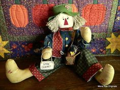 Scarecrow Doll  Jeb by MROriginals on Etsy, $39.99