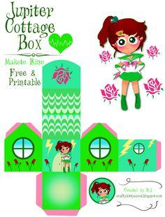 Sailor Jupiter (Makoto Kino)  Cottage Box - Free & Printable