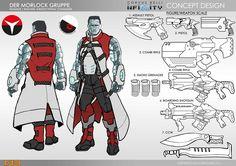 Infinity Gen Con 2016 Seminar – All The Info! Game Character Design, Character Sheet, Character Design Inspiration, Character Concept, Character Art, Character Ideas, Armor Concept, Game Concept, Concept Art