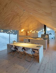 V-Lodge, a gorgeous minimalist cabin in Norway   My Cosy Retreat