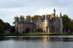 Castle of the Marnix de St. Aldegonde family in Bornem in Belgium