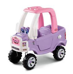 Amazon.com: Little Tikes Princess Cozy Truck Ride-On: Toys & Games