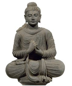 Lot 202. A gray schist figure of Buddha Gandhara, 2nd/3rd century, 32¾ in. (83.2 cm.) high Estimate: $60,000-80,000. This lot sold for a hammer price of $100,000 ($123,750 with the buyer's premium). Provenance New York Market, 1990s Private Collection, Monaco, acquired from Christie's Amsterdam, 10 Dec 2002, lot 4