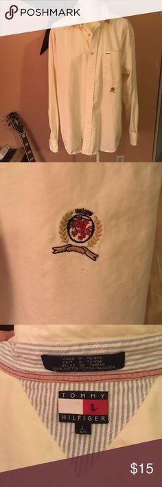 Vintage Tommy Hilfiger Button up Vintage Tommy Hilfiger Button up🤠no stains or rips. Tommy Hilfiger Shirts Dress Shirts