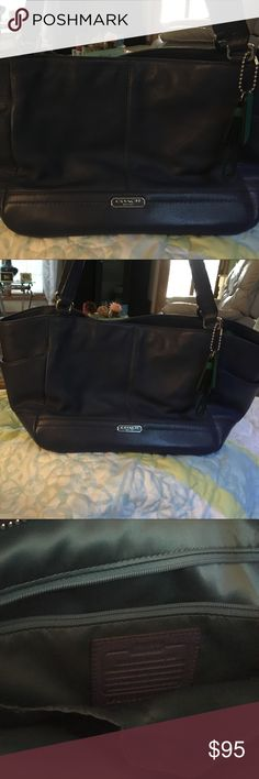 Coach Purse. New! Blue Coach Purse. New. Coach Bags Shoulder Bags