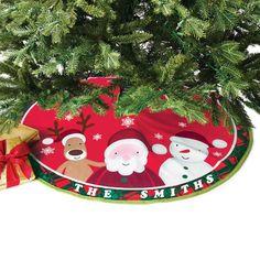 Happy Jolly Merry Tree Skirt