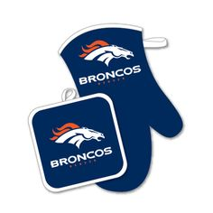 Denver Broncos NFL | Oven Mitt and Potholder Sets (Broncos) | eBay
