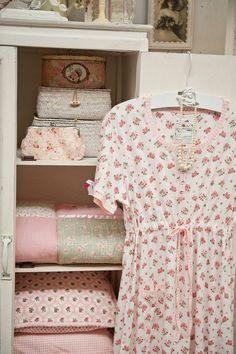 rosecottage.quenalbertini: Little roses dress   Rose Cottage