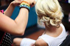 dreamy, loose curls, wedding hair