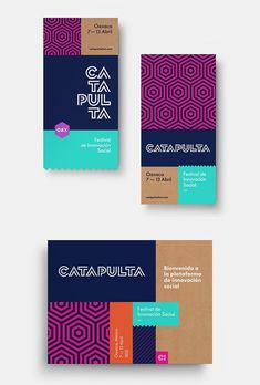 Catapulta Fest Stationery Items Professional branding or visual identity can be most valuable asset for any company or brand. Corporate branding is what sets your business apart from your Collateral Design, Stationery Design, Identity Design, Brochure Design, Visual Identity, Stationery Items, Brochure Ideas, Creative Brochure, Personal Identity