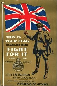 first-world-war-recruiting-poster