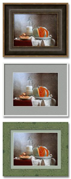 Created to be Framed for Wall http://pixels.com/featured/milk-and-pumpkin-nikolay-panov.html Kitchen still life photography with milk jug and pumpkin sliced by knife on white dish in home interior decoration