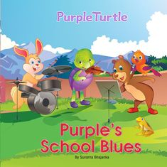 As the countdown begins your kids start to get more and more nervous. First day of school worries are normal. Here are some tips to help! Prepare your child for first day at school with Purple Turtle! First Day Of School, Pre School, Back To School, Writing Genres, Purple Turtle, Kids Story Books, Blue Books, Learn To Read, Happy Kids