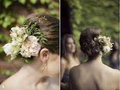 loose hair colourful flowers - Google Search