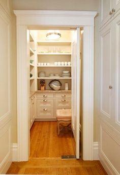 Cool Kitchen Pantry Design