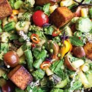 Warm Bean Salad with Fresh Herbs and Olives   The Splendid Table