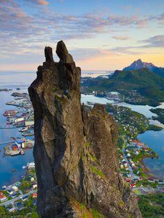 #Svolvaergeita, svolvaer #Lofoten Nordland #Norway