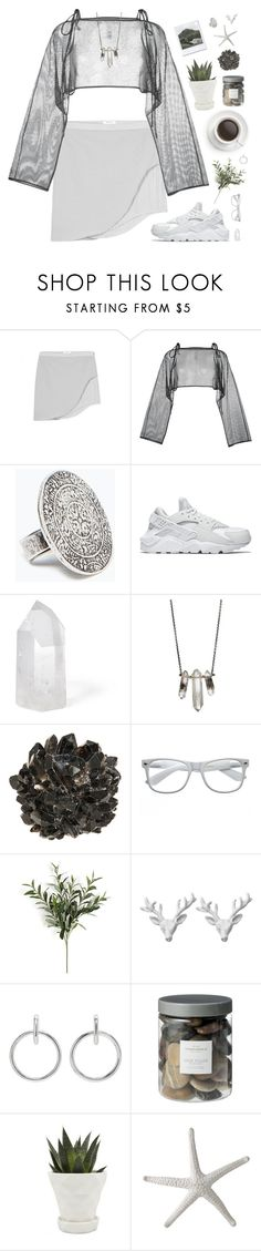 """""""Pisces 1"""" by pantelle ❤ liked on Polyvore featuring Helmut Lang, demoo parkchoonmoo, Zara, NIKE, Mapleton Drive, ZoÃ« Chicco, McCoy Design, Retrò, Wildfox and Sophie Buhai"""