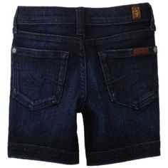 7 For All Mankind Girls 2-6X Toddler Bermuda $49.00