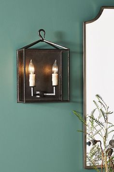 Cameron Lantern Sconce | Anthropologie