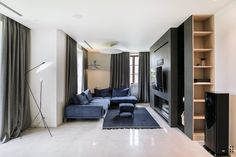 View the full picture gallery of Tarasava Interior Design Photography, Interior Architecture, House Design, Living Room, Mirror, Gallery, Furniture, Adobe Photoshop, Behance