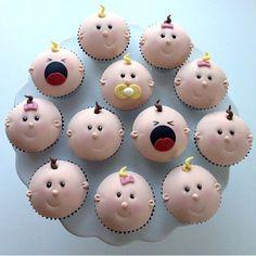 Baby cupcakes! — Cupcakes! |  #Baby #cupcakes