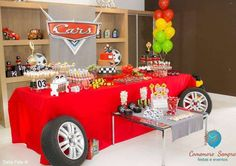 Cars - Disney Birthday Party Ideas | Photo 1 of 49