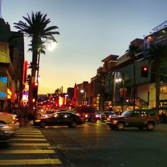 Hollywood Boulevard AKA Sunset Strip..