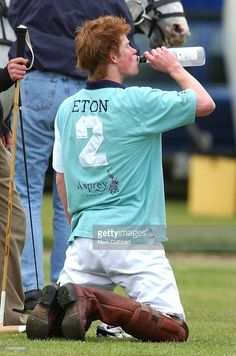 Prince Harry Plays Polo For Eton College Against Cheltenham College At The Cirencester Park Polo Club, Gloucestershire . House Of Windsor, Cuthbert, Polo Club, Save The Queen, Prince Harry And Meghan, British Royals, Beautiful Boys, Harry Styles