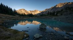 Glacial Tarn by Jimmy Jin on 500px