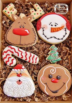 Whimsy Christmas cookies by Litterelly Delicious Cakery