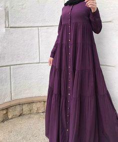 Nice Abay a Muslim Women Fashion, Islamic Fashion, Niqab Fashion, Fashion Dresses, Hijab Style Dress, Dress Up, Mode Abaya, Modele Hijab, Hijab Fashionista