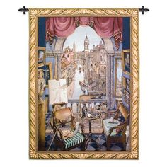 Fine Art Tapestries Venice Wall Tapestry - 1144-WH