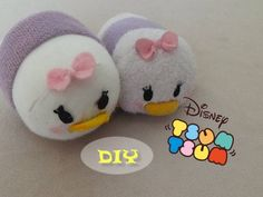 Daisy Duck- how to make your own Tsum Tsum (inspired by Disney)