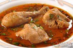 Receita de Coxas de frango ao molho em receitas de aves, veja essa e outras receitas aqui!