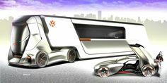 © Gabriel Zonta l Volkswagen I.D Truck  Behance : https://www.behance.net/gallery/49059317/Volkswagen-ID-Truck ------- Visit :  www.cars-concept.com