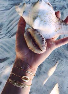 Summer Vibes :: Shells :: Beach :: Friends :: Adventure :: Sun :: Salty Fun :: Blue Water :: Paradise :: Bikinis :: Boho Style :: Fashion + Outfits :: Free your Wild + see more Untamed Summertime Inspiration @untamedorganica