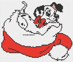 Cross Stitch Cards, Beaded Cross Stitch, Cross Stitching, Hama Beads Christmas, Christmas Cross, Cross Stitch Pattern Maker, Cross Stitch Patterns, Stitch Disney, Movie Crafts