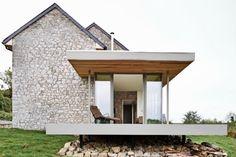 Rustično moderna kuća od kamena
