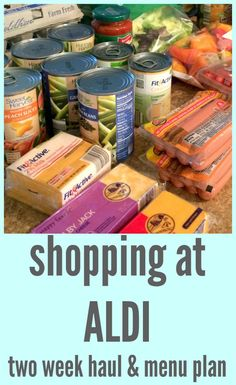It is time for another two-week grocery haul and menu plan! This time I decided to do most of my shopping at Aldi. Sometimes I can get amazing deals at the grocery store with sales and coupons, but…