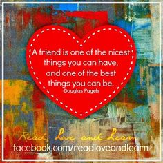 Friendship #quote via facebook.com/readlovelearn